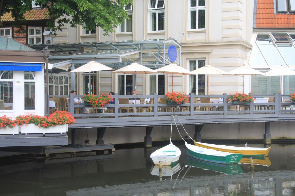 Salah satu sisi centrum Lüneburg. Dokumentasi pribadi (copyright: Anita Puspita Sari)